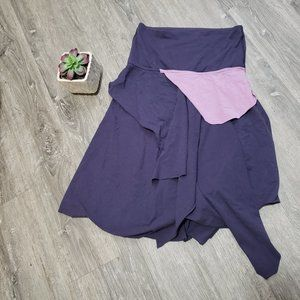 Oqoqo Lululemon * Yoga Skirt Layered Lagenlook XS